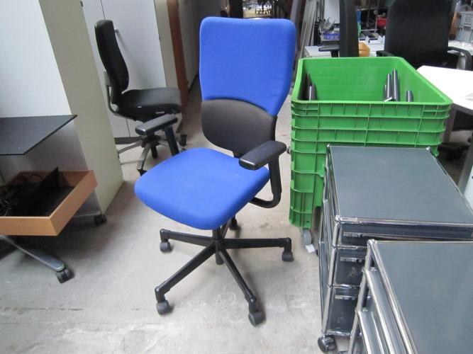 steelcase let 39 s b 39 39 ergonomischer drehstuhl b rostuhl j616 ebay. Black Bedroom Furniture Sets. Home Design Ideas