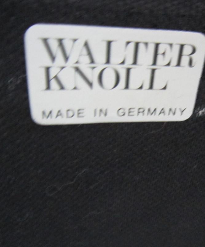 walter knoll ledersofa 2 sessel schwarz holzlehnen j743 ebay. Black Bedroom Furniture Sets. Home Design Ideas